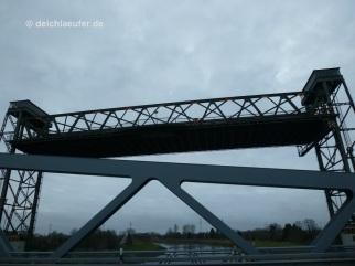 Huntebrück, neue und alte Brücke