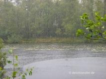 Es gießt...