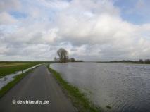 Eine Stunde vor Hochwasser