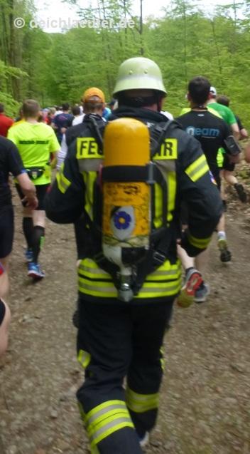 Der echte Feuerwehrmann feierte gestern seinen 40.