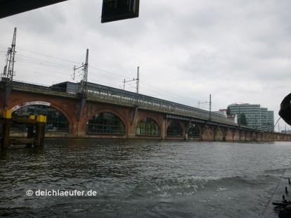 S- und U-Bahnhof Jannowitzbrücke, hat viele Treppen