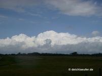 Wunderschöne Wolken