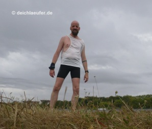 Wind in der Bluse :lol: