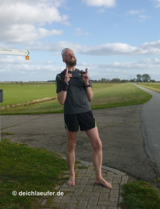 21 km barfuß