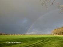 Erst kam der Regenbogen ...