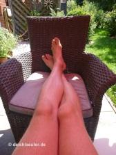 Füße hoch :-)