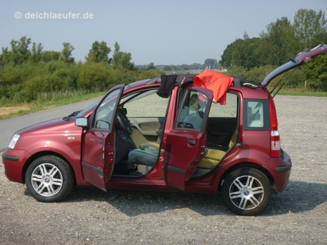 Automobile Wäscheleine
