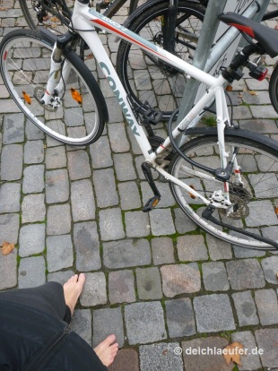 Das Glück der Fahrradfahrer: