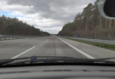Die A2, eine der verkehrsreichsten Autobahnen Deutschlands, ...