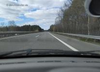A 27, Walsrode - Bremen, teilweise schon unheimlich