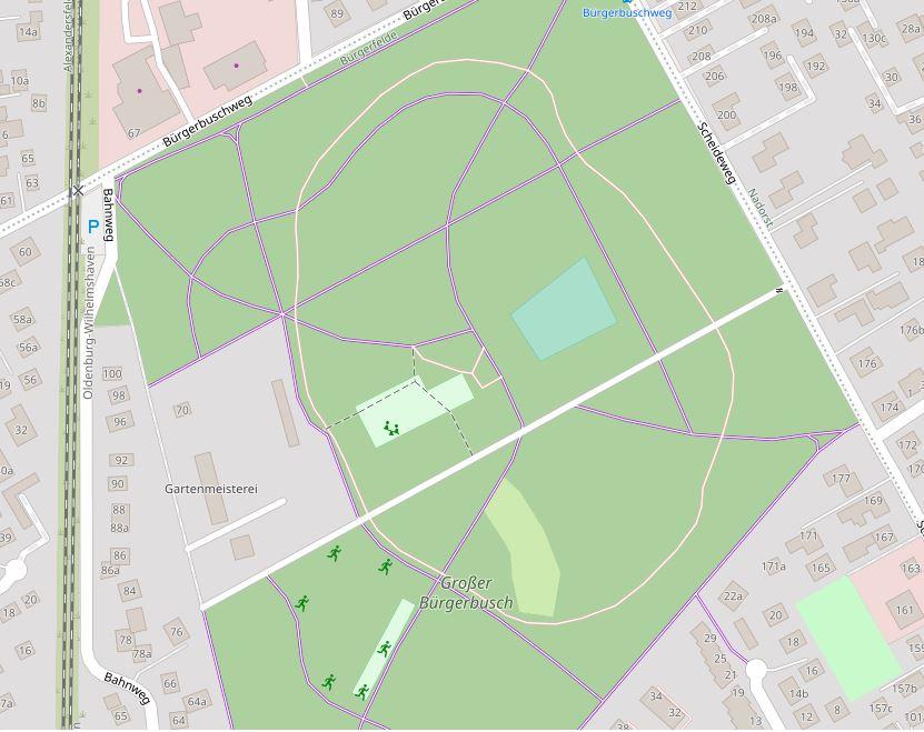 Plan Großer Bürgerbusch