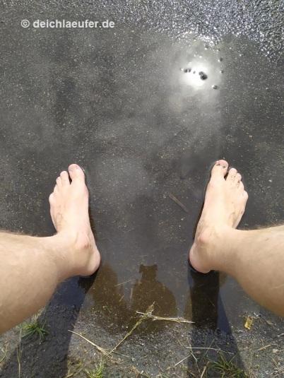 Pause auf dem Tempelhofer Feld